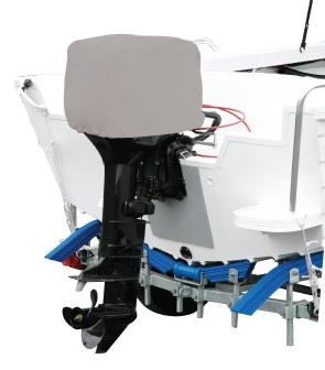 Housse doublee protection moteur hors bord - Housse capot moteur hors bord ...